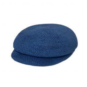 Kappe papier-blau